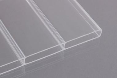 16mm stegdoppelplatten acrylglas klar breitkammer dachplatten24. Black Bedroom Furniture Sets. Home Design Ideas