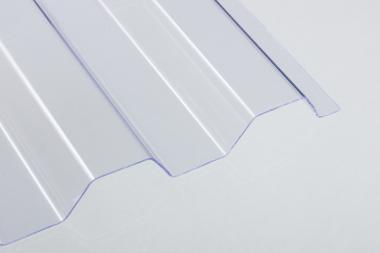 Lichtplatten PVC 1,0 mm Trapezprofil 70/18