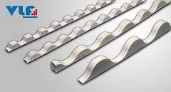 Profilfüller 130/30 Profil 8 Sinus weiß 1000mm