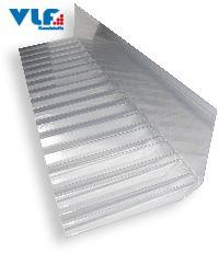 Wandanschluss M76/18 Spundwand Polycarbonat klar