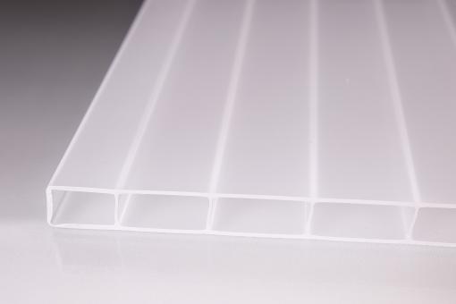 Stegdoppelplatten aus Acryglas 16mm opal