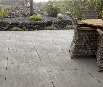 HPL Terrassenfliese 10x600x1000mm stein