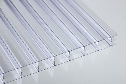 Nova-Lite Stegdreifachplatten Polycarbonat klar 16 mm