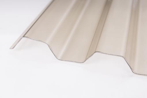 Ondex Lichtplatte Trapez 70/18 1,2mm bronze
