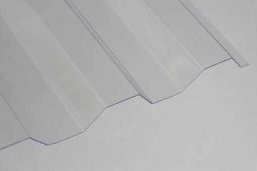 Ondex Lichtplatte Trapez 70/18 1,2mm glashell