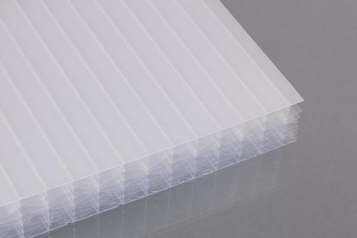 Stegsechsfachplatten aus Polycarbonat 32 mm