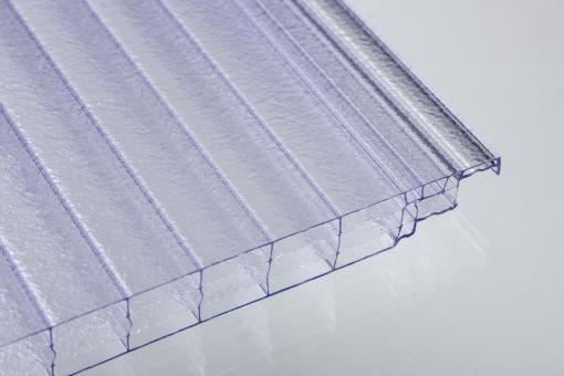 Stegvierfachplatten aus Polycarbonat 16 mm Click