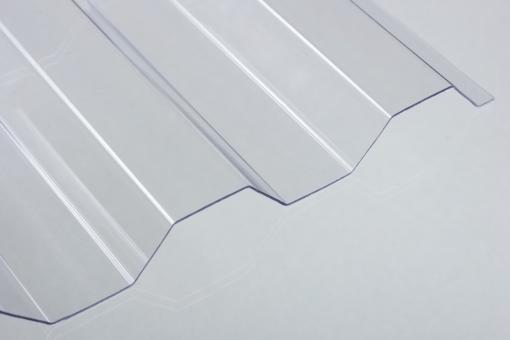 Lichtplatten PVC 1,4mm Trapezprofil 20/1100