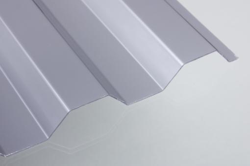 Trapezprofil 76/18 Polycarbonat silber-metallic
