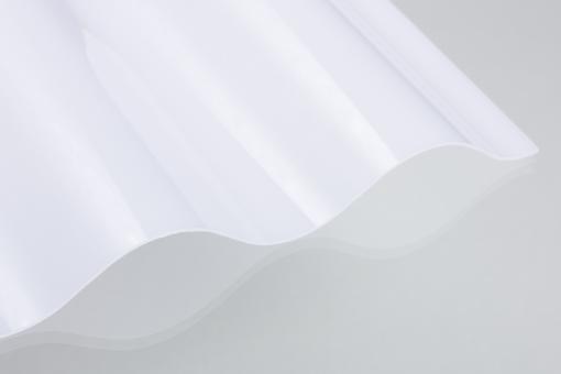 Wellplatten Lichtplatten Polycarbonat weiß-opal