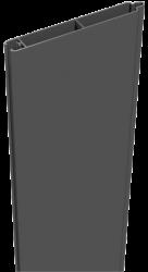 Sichtschutzzaun Aluminium anthrazit 180/90