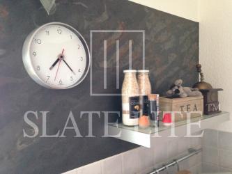Slate-Lite Dünnschiefer Wandpaneele Silver Grey 122x61