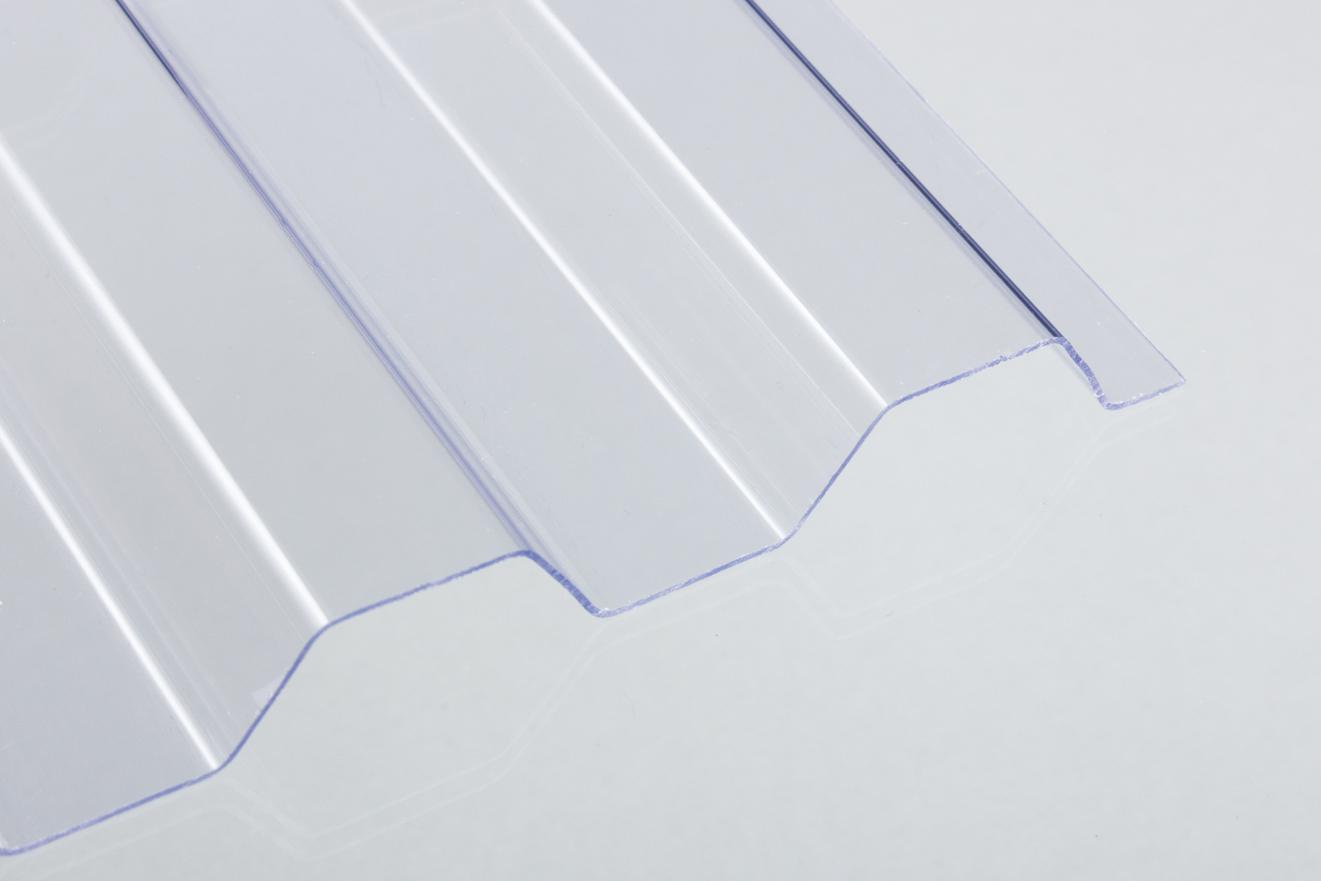 8,45 €//qm PVC Wellplatten Lichtplatten Sinus 76//18 1,2 mm bronze