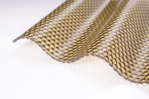 wellplatten lichtplatten polycarbonat 2 8mm wabe bronze. Black Bedroom Furniture Sets. Home Design Ideas
