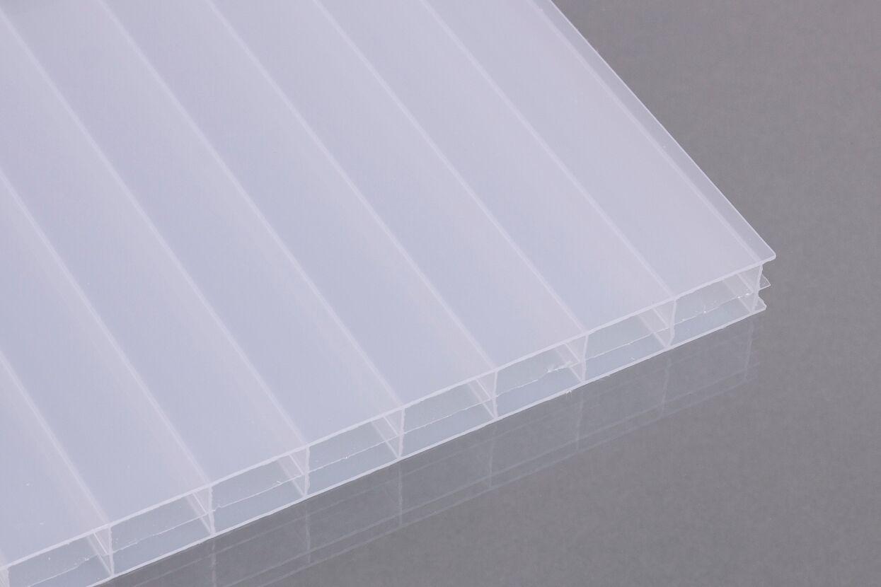 stegdreifachplatten aus polycarbonat 16 mm opal dachplatten24. Black Bedroom Furniture Sets. Home Design Ideas
