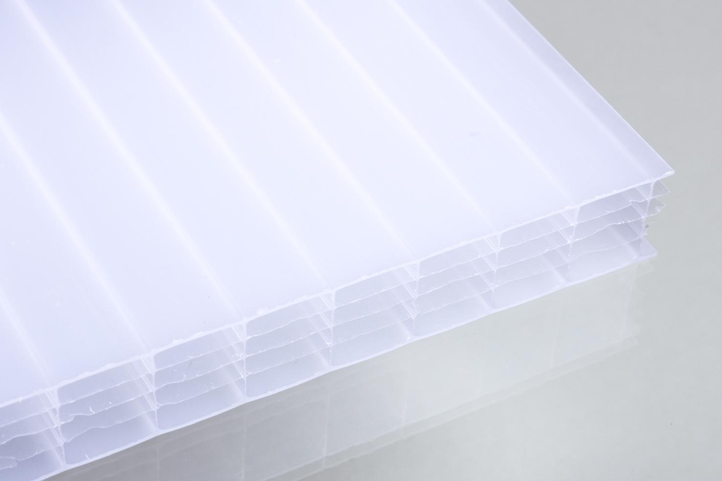 stegf nffachplatten aus polycarbonat opal 25 mm dachplatten24. Black Bedroom Furniture Sets. Home Design Ideas