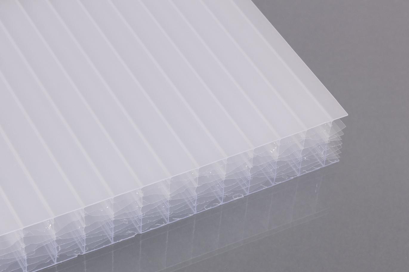 stegsechsfachplatten aus polycarbonat 32 mm dachplatten24. Black Bedroom Furniture Sets. Home Design Ideas