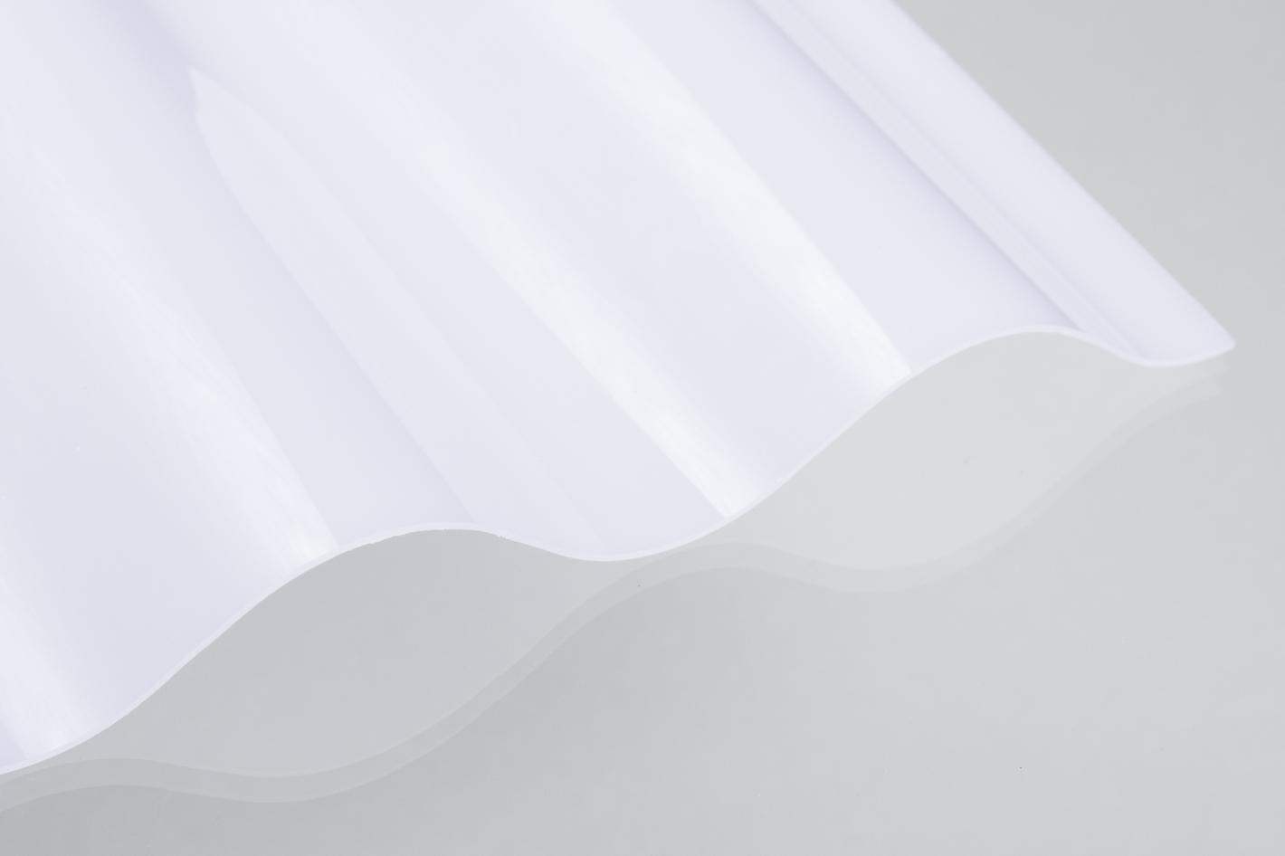 Wellplatten Lichtplatten Polycarbonat Weiss Opal Dachplatten24